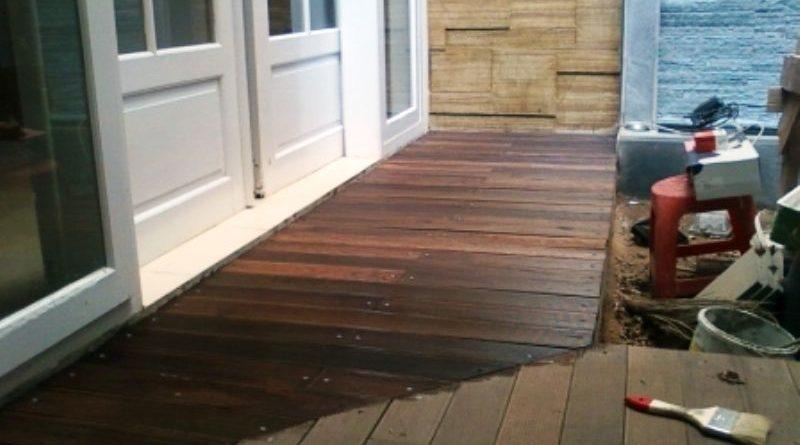 decking kayu bandung