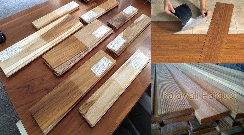 macam macam lantai kayu parket