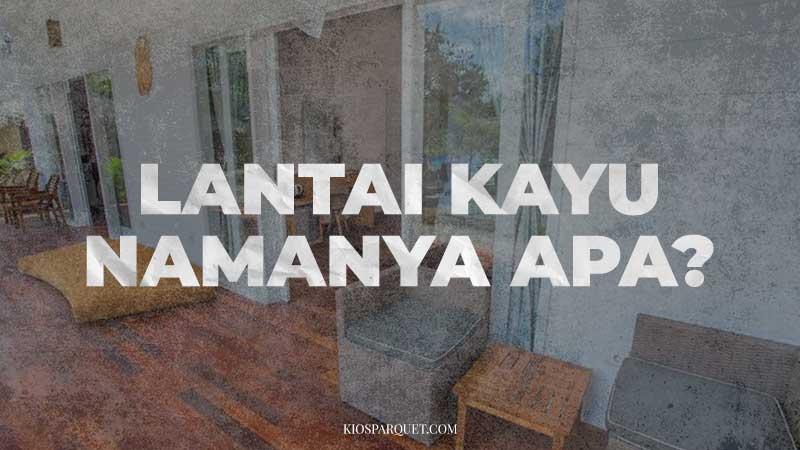 nama lantai kayu