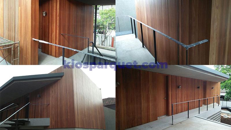 lumberceiling pada dinding