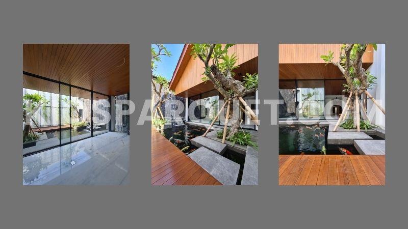 contoh proyek lantai kayu