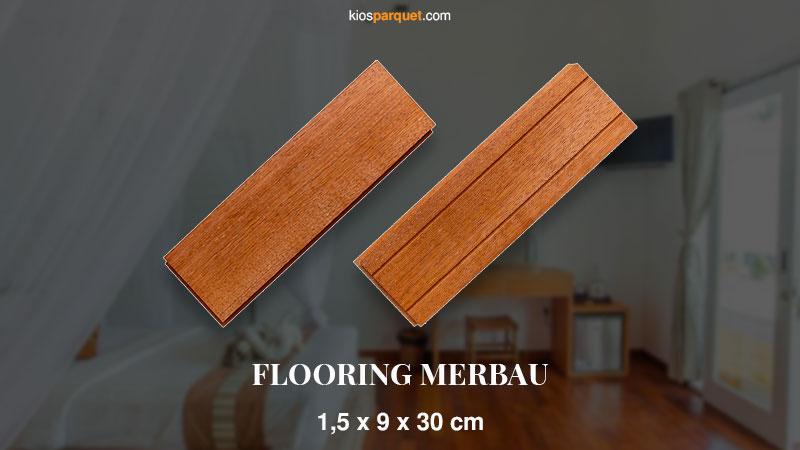 Promo Murah Flooring Merbau