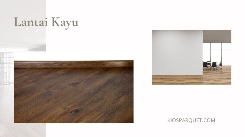 lantai kayu untuk kantor