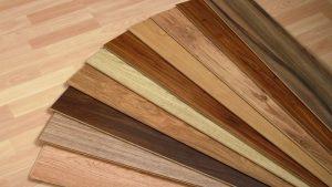 lantai kayu laminate untuk kamar tidur minimalis