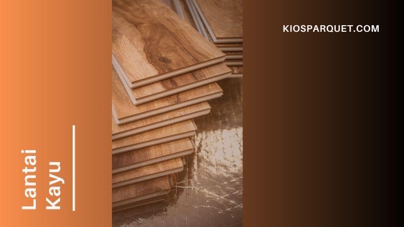 lantai kayu untuk dapur