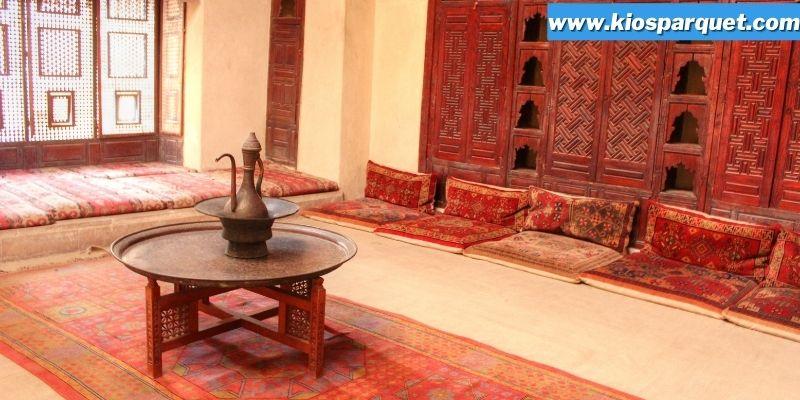 Tips & Trik Menciptakan Interior Rumah Bernuansa Timur Tengah - perhatikan warna cat dinding